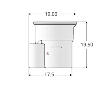 Air Head Dimensions Drawing